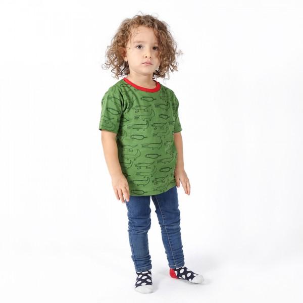 CROCODILES Kinder Shirt Grün.