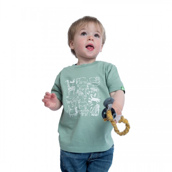 SERENGETI Kinder Shirt Mintgrün
