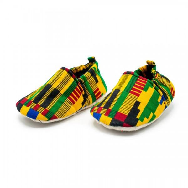 Babyschuhe Kente Tribal