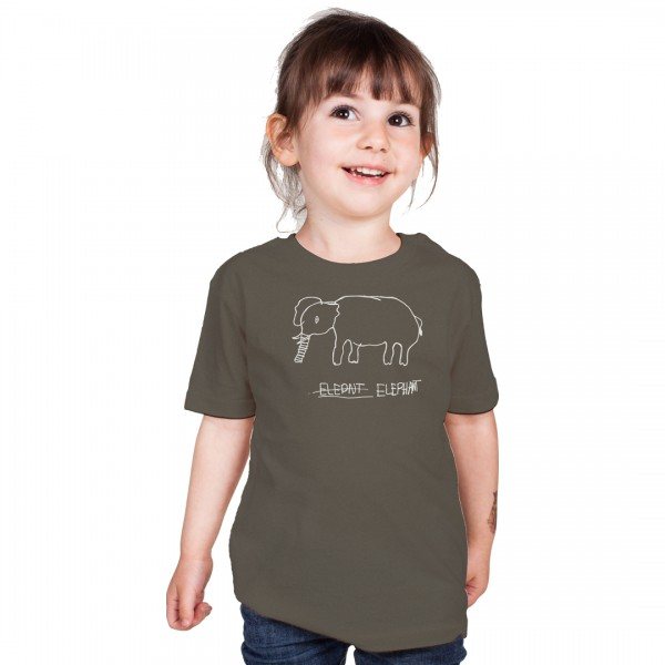 ELEPHANT Kids Shirt Dark Grey