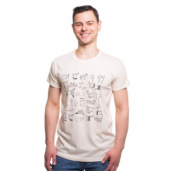 WANYAMA OLD Männer Shirt Natur