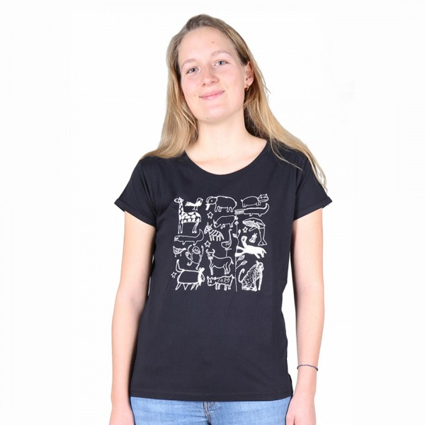 SERENGETI Women Shirt Black