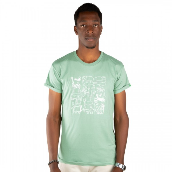 SERENGETI Männer Shirt Mintgrün