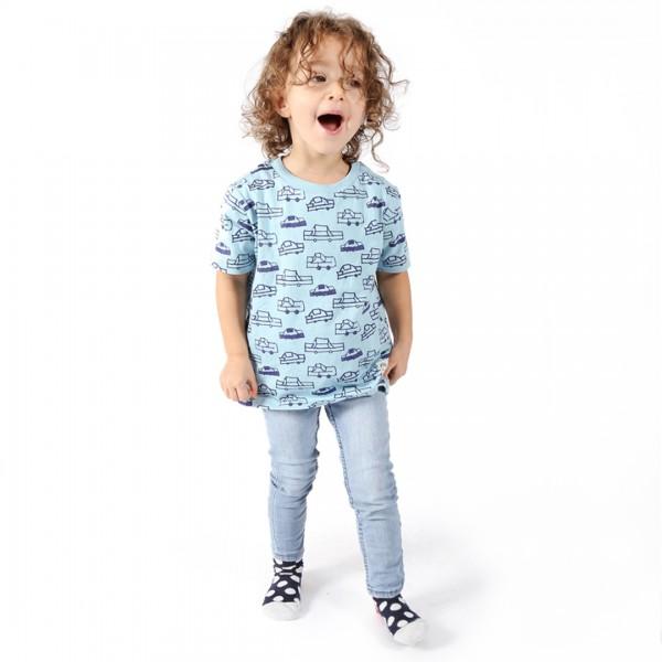 CARS Kinder Shirt Hellblau.