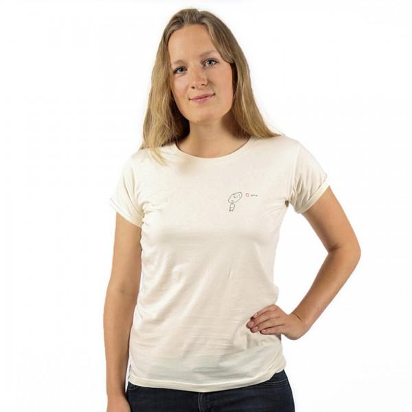 LOVE YOU Women Shirt Black