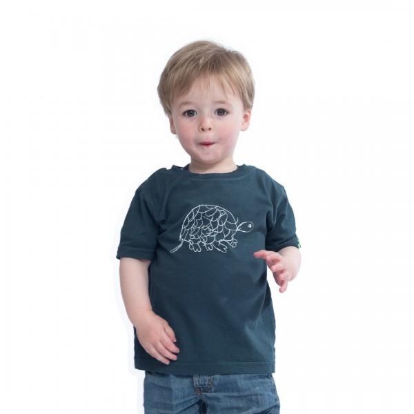 TORTOISE Kinder Shirt Dunkelgrün