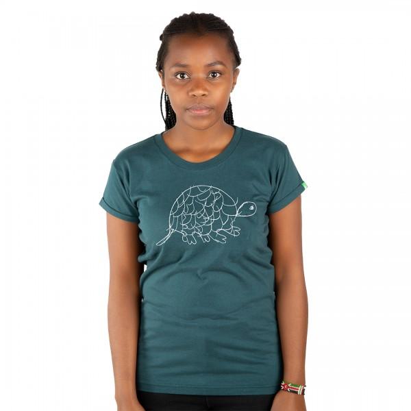 TORTOISE Frauen Shirt Dunkelgrün