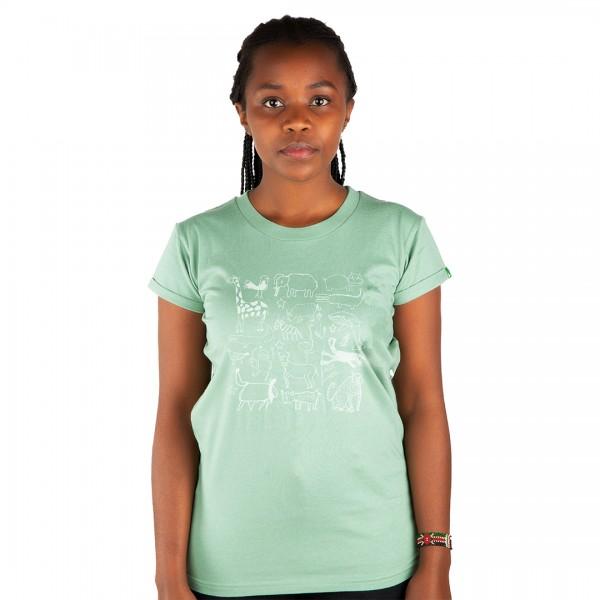SERENGETI Women Shirt Mint Green