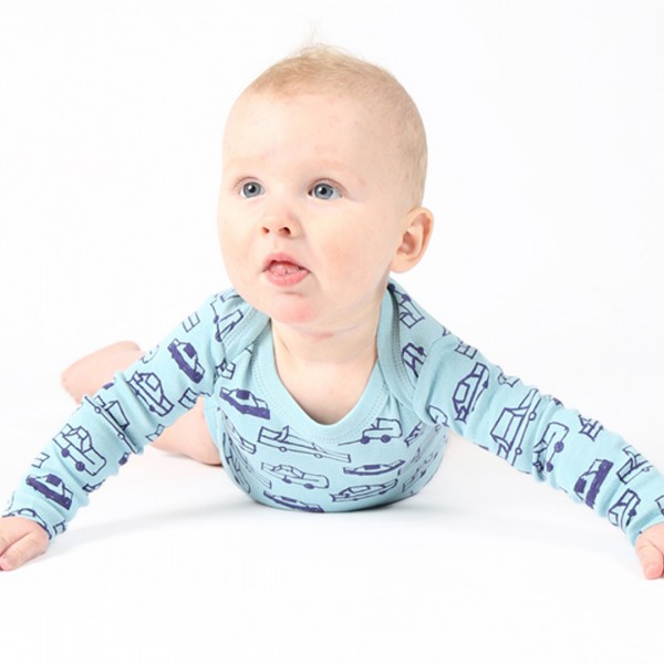 CARS Babybody Light Blue