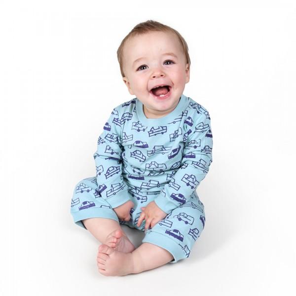 CARS Baby Pyjama Hellblau