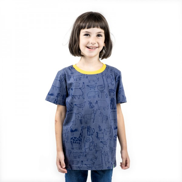 WANYAMA Kids Shirt Charcoal