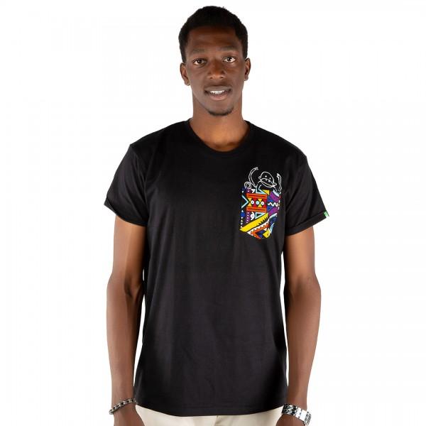 NYANI Men Shirt Black
