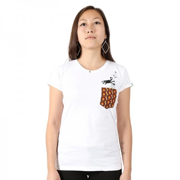 NYANI V.2 Frauen Shirt Weiß