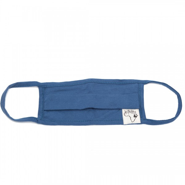 BASIC Mouth-and Nose Mask Saragossa Blue