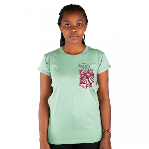 TASCHENWAL Frauen Shirt Mintgrün