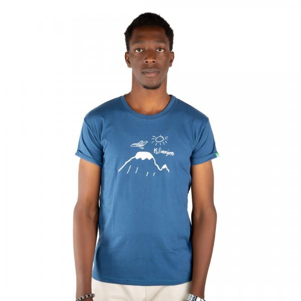 KILIMANJARO Männer Shirt Blau