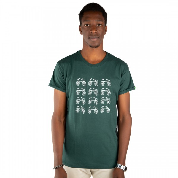 BAISIKELI V.2 Men Shirt Dark Green