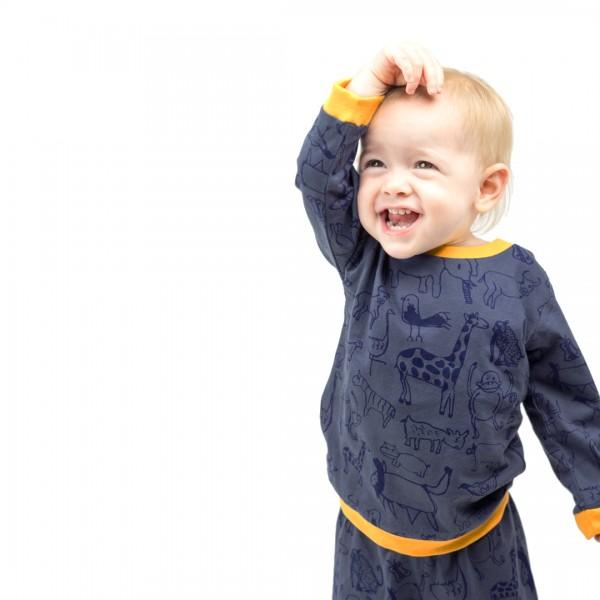 WANYAMA Baby Pyjama Charcoal