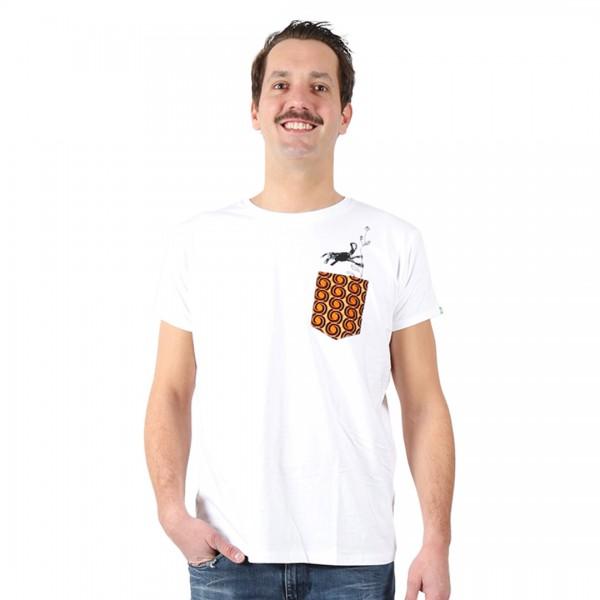 NYANI V.2 Männer Shirt Weiß.