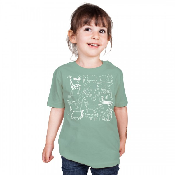 SERENGETI Kids Shirt Mint Green
