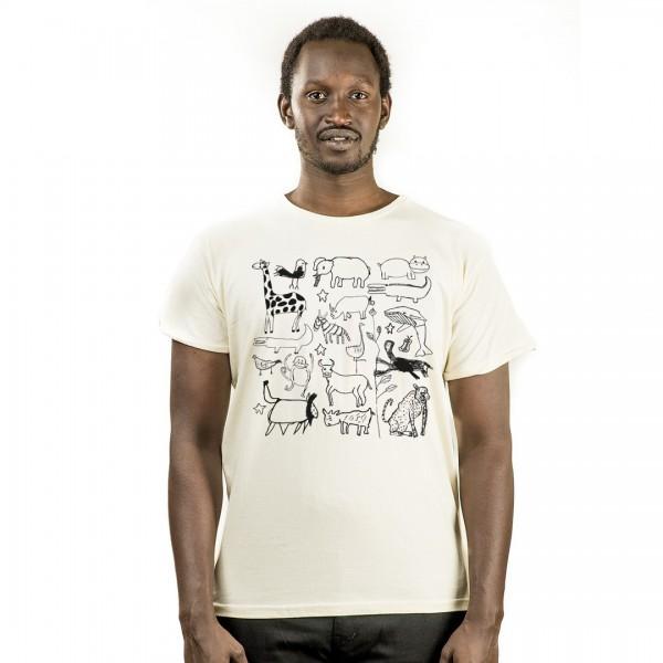 SERENGETI Männer Shirt Natur